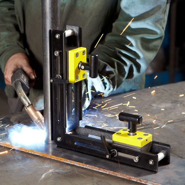 90 on off magnetic blocks welding angle - Aimant de soudeur ...